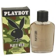 Playboy Play It Wild by Playboy - Eau De Toilette Spray 100 ml f. herra