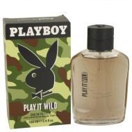 Playboy Play It Wild by Playboy - Eau De Toilette Spray 100 ml f. herra
