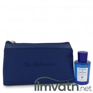 Blu Mediterraneo Cedro Di Taormina by Acqua Di Parma - Gjafasett- 2.5 oz Eau De Toilette Spray (Unisex) in Bag f. dömur