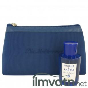 Blu Mediterraneo Cedro Di Taormina by Acqua Di Parma - Gjafasett - 2.5 oz Eau De Toilette Spray (Unisex) in Bag f. dömur