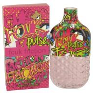 FCUK Friction Pulse by French Connection - Eau De Parfum Spray 100 ml f. dömur