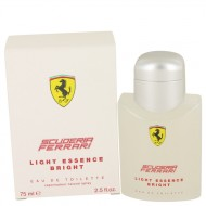 Ferrari Light Essence Bright by Ferrari - Eau De Toilette Spray (Unisex) 75 ml f. herra
