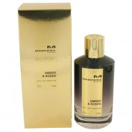 Mancera Amber & Roses by Mancera - Eau De Parfum Spray (Unisex) 120 ml f. dömur