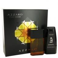 AZZARO by Azzaro - Gjafasett- 3.4 oz Eau De Toilette Spray + 5 oz Hair & Body Shampoo f. herra
