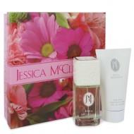 JESSICA Mc CLINTOCK by Jessica McClintock - Gjafasett - 3.4 oz Eau De Parfum Spray + 5 oz Body Lotion f. dömur