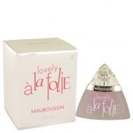 Mauboussin Lovely A La Folie by Mauboussin - Eau De Parfum Spray 50 ml f. dömur