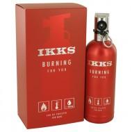 Burning For You by Ikks - Eau De Toilette Spray 100 ml f. herra