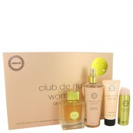 Club De Nuit by Armaf - Gjafasett - 3.6 oz Eau De Parfum Spray + 1.7 oz Body Spray + 3.4 oz Body Lotion + 8.4 oz Fragrance Body Spray f. dömur
