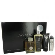 Club De Nuit by Armaf - Gjafasett- 3.6 oz Eau De Toilette Spray + 1.7 oz Body Spray + 3.4 oz Shower Gel + 8.4 oz Shampoo with Conditioner f. herra