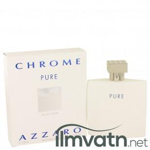 Chrome Pure by Azzaro - Eau De Toilette Spray 100 ml f. herra