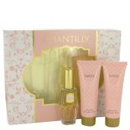 CHANTILLY by Dana - Gjafasett - 1 oz Eau De Toilette Spray + 2.5 oz Body Lotion + 2.5 oz  Body Wash f. dömur