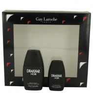 DRAKKAR NOIR by Guy Laroche - Gjafasett - 1 oz Eau De Toilette Spray + .5 oz Mini EDT d. herra