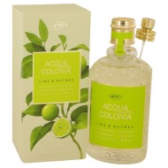 4711 Acqua Colonia Lime & Nutmeg by Maurer & Wirtz - Eau De Cologne Spray 169 ml f. dömur