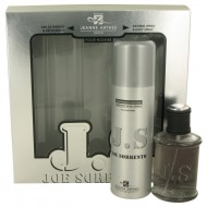 Joe Sorrento by Jeanne Arthes - Gjafasett - 3.4 oz Eau De Parfum Spray + 6.8 oz Body Spray f. herra