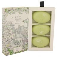 White Jasmine by Woods of Windsor - Three 2.1 oz Luxury Soaps 62 ml f. dömur