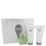 Tiamo by Parfum Blaze - Gjafasett - 3.4 oz Eau De Parfum Spray + 6.8 oz After Shave + 6.8 oz Shower Gel d. herra