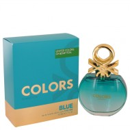 Colors De Benetton Blue by Benetton - Eau De Toilette Spray 80 ml f. dömur