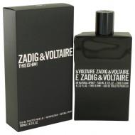 This is Him by Zadig & Voltaire - Eau De Toilette Spray 100 ml f. herra