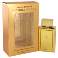 The Golden Secret by Antonio Banderas - Eau De Toilette Spray (The Gold Edition) 100 ml f. herra