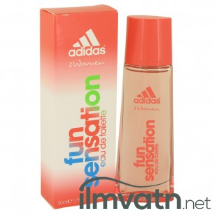 Adidas Fun Sensation by Adidas - Eau De Toilette Spray 50 ml f. dömur