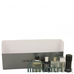 ARMANI by Giorgio Armani - Gjafasett - Travel Set Includes Armani Code, Emporio Armani Diamonds, Acqua Di Gio, Armani and Acqua Di Gio Profumo f. herra