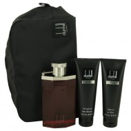 DESIRE by Alfred Dunhill - Gjafasett - 3.4 oz Eau De Toilette Spray + 3 oz Shower Gel + 3 oz After Shave Balm + Bag f. herra