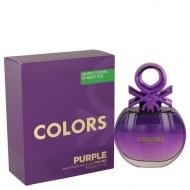 United Colors of Benetton Purple by Benetton - Eau De Toilette Spray 80 ml f. dömur