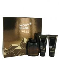 Montblanc Legend Night by Mont Blanc - Gjafasett- 3.3 oz Eau De Parfum Spray + 3.3 oz After Shave Balm + 3.3 oz Shower Gel f. herra