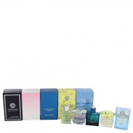 Bright Crystal by Versace - Gjafasett - The Best of Versace Men's and Women's Miniatures Collection Includes Versace Eros, Versace Pour Homme, Versace Man Eau Fraiche, Bright Crystal, and Versace Yellow Diamond f. dömur