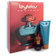 BYBLOS by Byblos - Gjafasett- 1.68 oz Eau De Parfum Spray + 6.75 Body Lotion f. dömur