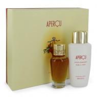 APERCU by Houbigant - Gjafasett- 1.7 oz Eau De Toilette Spray + 6.7 oz Body Lotion f. dömur