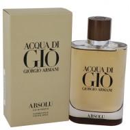 Acqua Di Gio Absolu by Giorgio Armani - Eau De Parfum Spray 125 ml f. herra