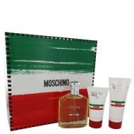 Moschino Friends by Moschino - Gjafasett - 4.2 oz Eau De Toilette Spray +1.7 oz  After Shave Balm + 3.4 oz Shower Gel f. herra