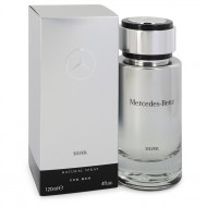 Mercedes Benz Silver by Mercedes Benz - Eau De Toilette Spray 120 ml f. herra