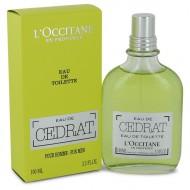 L'occitane Eau De Cedrat by L'occitane - Eau De Toilette Spray 100 ml f. herra