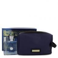 Versace Pour Homme by Versace - Gjafasett - 3.4 oz Eau De Toilette Spray + 0.3 oz Mini EDT Spray in Pouch f. herra
