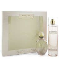 Lovely by Sarah Jessica Parker - Gjafasett - 3.4 oz Eau De Parfum Spray + 8 oz Body Mist f. dömur