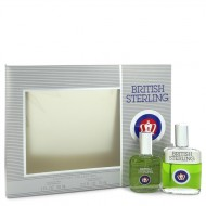 BRITISH STERLING by Dana - Gjafasett - 1 oz Cologne Spray + 2.5 oz After Shave f. herra