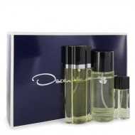 OSCAR by Oscar de la Renta - Gjafasett- 3.4 oz Eau De Toilette Spray + 8.4 oz Body Mist + .5 oz Travel Size Spray f. dömur