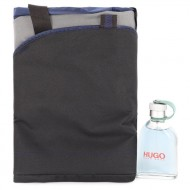 HUGO by Hugo Boss - Gjafasett - 4.2 oz  Eau De Toilette Spray + Duffel Bag f. herra