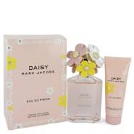 Daisy Eau So Fresh by Marc Jacobs - Gjafasett- 4.2 oz Eau De Toilette Spray + 2.5 oz Body Lotion f. dömur