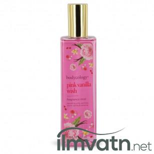 Bodycology Pink Vanilla Wish by Bodycology - Fragrance Mist Spray 240 ml f. dömur