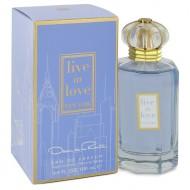 Live In Love New York by Oscar De La Renta - Eau De Parfum Spray 100 ml f. dömur