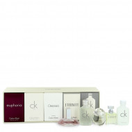 Euphoria by Calvin Klein - Gjafasett - Deluxe Fragrance Collection Includes CK One, Euphoria, CK All, Obsessed and Eternity f. dömur