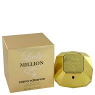 Lady Million by Paco Rabanne - Gjafasett- 2.7 oz Eau De Parfum Spray + .17 oz Mini EDP + 3.4 oz Body Lotion f. dömur