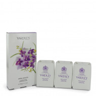 April Violets by Yardley London - 3 x 3.5 oz Soap 104 ml  f. dömur