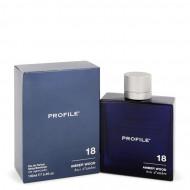 18 Amber Wood by Profile - Eau De Parfum Spray 100 ml f. herra