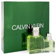 ETERNITY by Calvin Klein - Gjafasett - 3.4 oz Eau De Toilette Spray + 1 oz Eau De Toilette Spray  f. herra