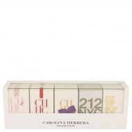 CH Carolina Herrera by Carolina Herrera - Gjafasett -- Mini Set includes 212, 212 VIP, CH, CH Eau De Parfum Sublime, and CH L'eau in beautiful gift box. f. dömur