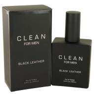 Clean Black Leather by Clean - Eau De Toilette Spray 100 ml f. herra